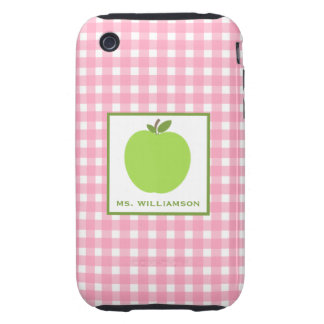 Gingham & Apple Case-Mate Tough™ iPhone3G/3GS Case Tough iPhone 3 Cover