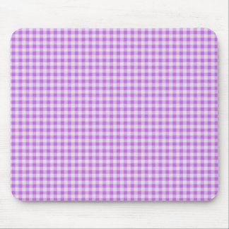 Gingham Background Mouse Pad