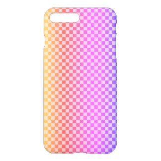 Gingham Check Checkered Bright Colorful iPhone 8 Plus/7 Plus Case