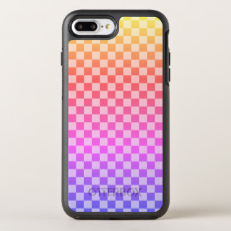 Gingham Check Checkered Bright Colorful OtterBox Symmetry iPhone 8 Plus/7 Plus Case