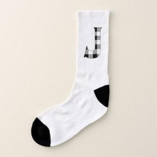 Gingham Check J Socks
