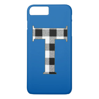 Gingham Check T iPhone 7 Plus Case