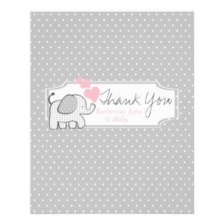 Gingham Elephant Candy Bar Wrapper Favor