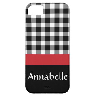 Gingham Gal iPhone 5 Cover