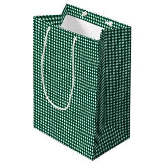 Gingham-Jade Green-Gift Bag M