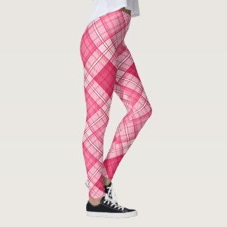 Gingham Pattern Leggings