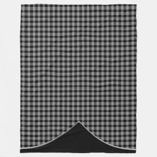Gingham Pattern Printed Large 60X80 Fleece Blanket