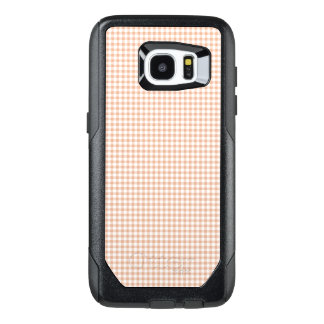 Gingham_Peach_Checks OtterBox Samsung Galaxy S7 Edge Case