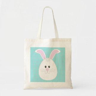 Gingham Rabbit Bag