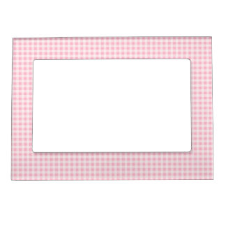 Gingham Style Magnetic Frame