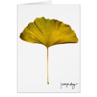 """""""Gingko"""" by J. Maya Luz Card"""
