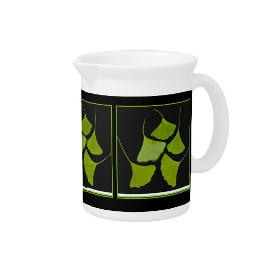 gingko leaves pitcher