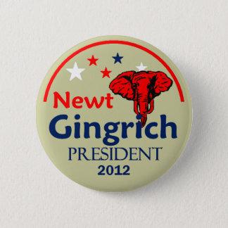 Gingrich 2012 Button