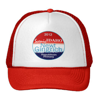Gingrich IDAHO Hat