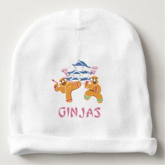 Ginjas Ninjas Christmas Ninja Gingerbread Baby Beanie