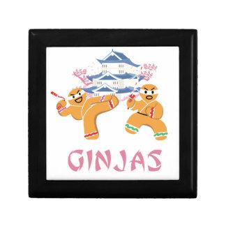 Ginjas Ninjas Christmas Ninja Gingerbread Gift Box