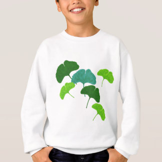 Ginkgo Biloba Leaves Sweatshirt