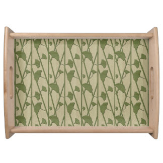 ginkgo biloba serving tray