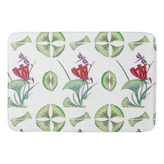 Ginkgo Floral Tropical Bath Mat