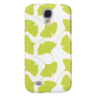 Ginkgo Ginko Biloba Green Leaves Samsung Galaxy S4 Cover