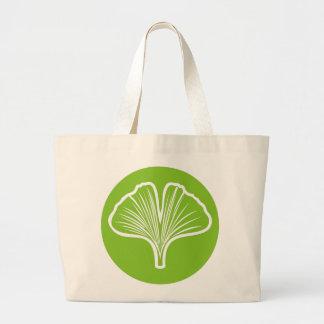 Ginkgo Leaf Tote Bags