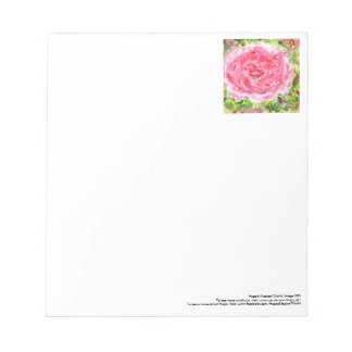 Ginormous rose notepad