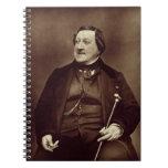 Gioacchino Rossini (1792-1868) from 'Galerie Conte Journal