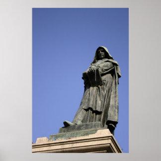 Giordano Bruno in Rome Poster