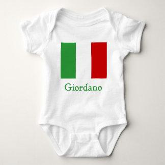 Giordano Italian Flag Baby Bodysuit