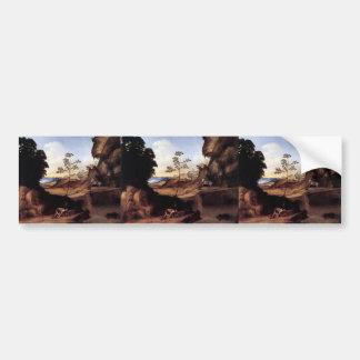 Giorgione- The Sunset Bumper Sticker
