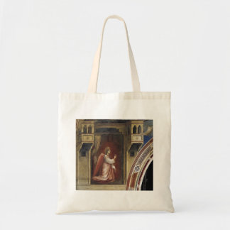 Giotto:Annunciation: The Angel Gabriel Sent by God Tote Bag