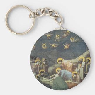 Giotto Lamentation Of Christ Key Chain