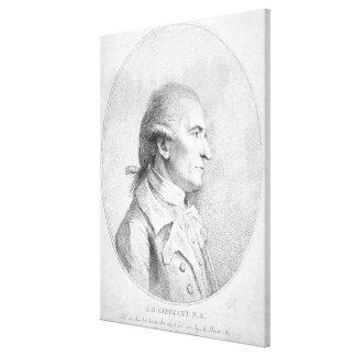 Giovanni Battista Cipriani, 1789 Canvas Print