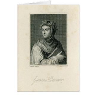 Giovanni Boccaccio Card