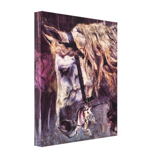 Giovanni Boldini - Head of a horse Canvas Print