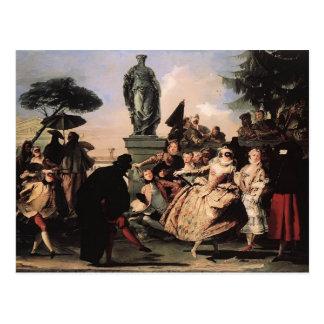 Giovanni Domenico Tiepolo- Minuet Postcard