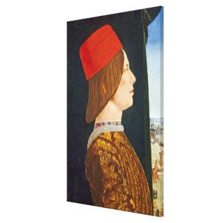 Giovanni II Bentivoglio, c. 1474- 77 Canvas Print