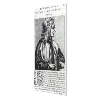 Giovanni Pico della Mirandola, from Canvas Print