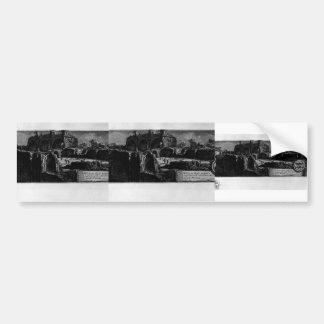 Giovanni Piranesi- Ruins of Nero`s Golden House Bumper Stickers