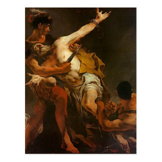 Giovanni Tiepolo- Martyrdom of St. Bartholomew Postcard