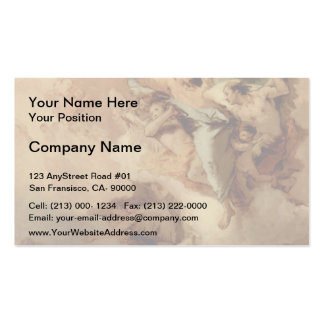 Giovanni Tiepolo-St Thecla Liberating City of Este Business Card Template