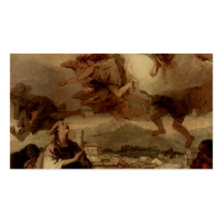 Giovanni Tiepolo-St.Thecla Liberating City of Este Pack Of Standard Business Cards