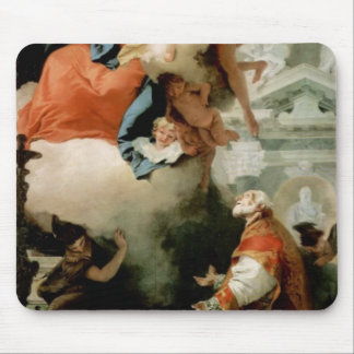 Giovanni Tiepolo-Virgin Appearing to St Philip Mouse Pad