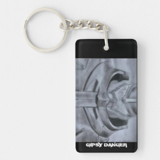 Gipsy Danger Pacific Rim Keychain