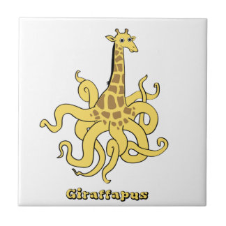 giraffapus ceramic tile