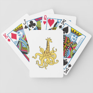giraffapus_NO_words.ai Bicycle Playing Cards