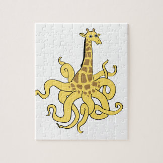 giraffapus_NO_words.ai Jigsaw Puzzle
