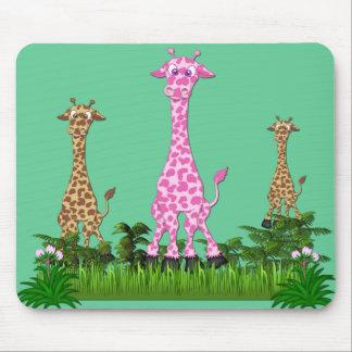 giraffe2 mouse pad