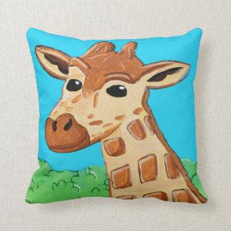 Giraffe 16 x 16 Square Pillow