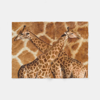Giraffe 1A Fleece Blanket